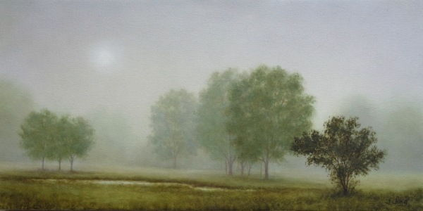 Silver Sunrise 10x20 at Hunter Wolff Gallery