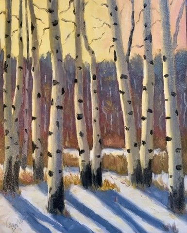 Click to view detail for Soft Winter Light 8x10
