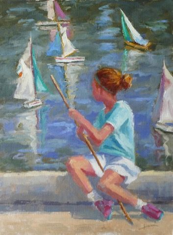 Click to view detail for Summer Sailing