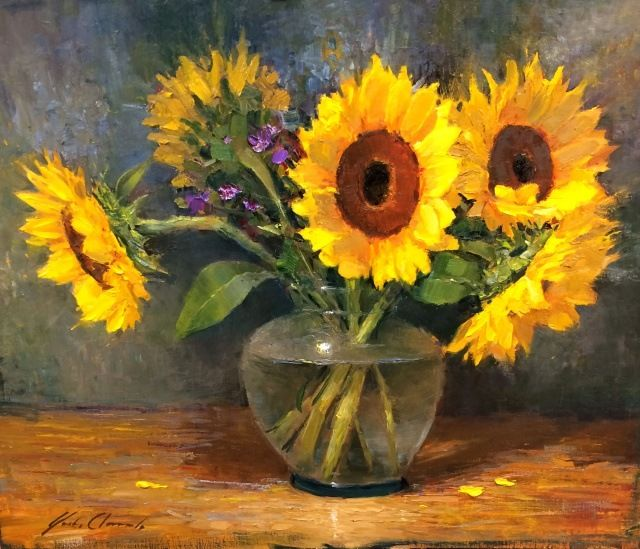 Click to view detail for Sunflowers
