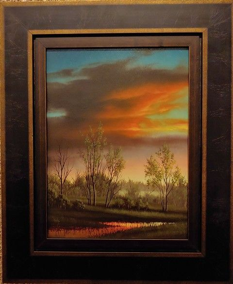 Click to view detail for Sunset Glow 16x12