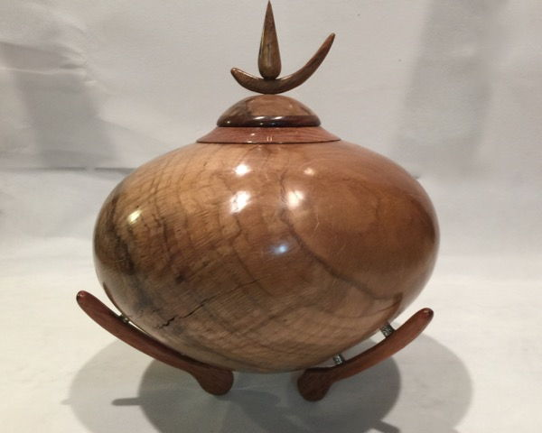 Click to view detail for TC-051 Teardrop Oak Vessel