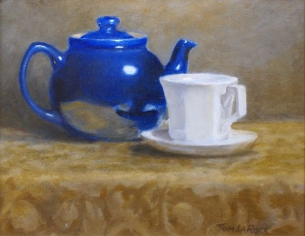 Teapot and Cup at Hunter Wolff Gallery