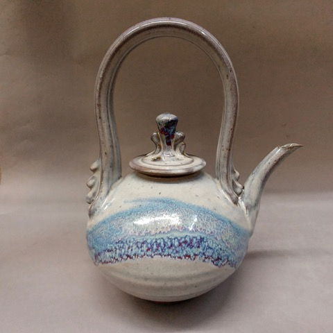 Click to view detail for Teapot, True Blue