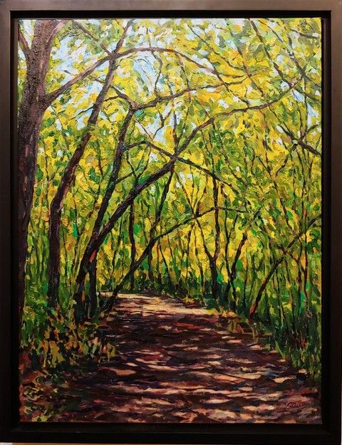 Click to view detail for Tree Canopy 24x18 $900