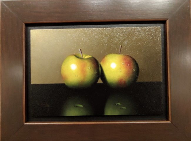 Click to view detail for Two Little Apples 4x6