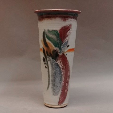 Click to view detail for Vase, Wide-Mouth 11x5.5