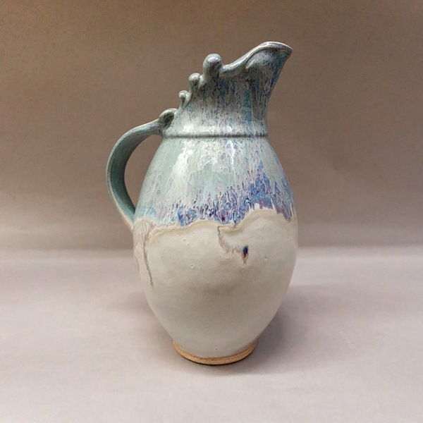 Click to view detail for Water Pitcher 11 Blue