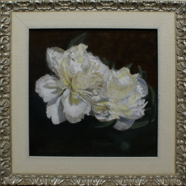 Click to view detail for White Peonies 12x12 $680
