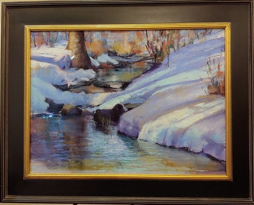 Click to view detail for Winter Show 18x24 $1200