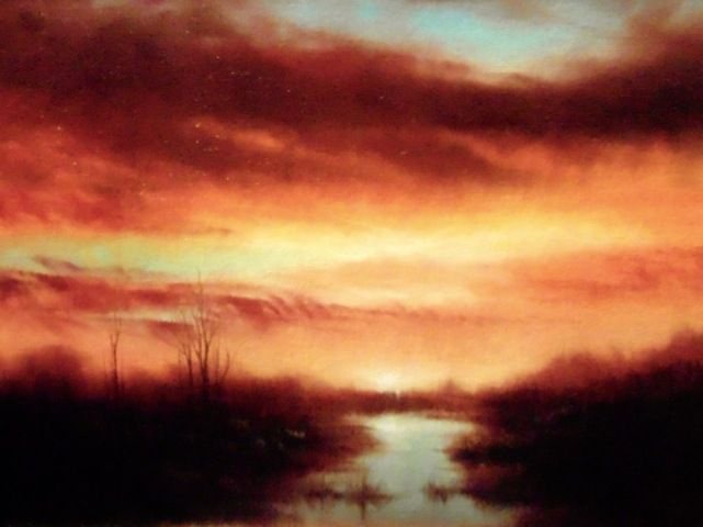 Click to view detail for The Marsh at Sunrise 14x18